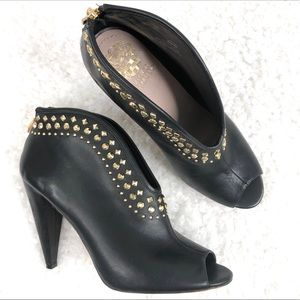 Vince Camuto Amy Studded Peep Toe Ankle Shootie